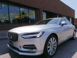 Used 2017 Volvo S90 T6 Inscription Bowers & Wilkins, Vision and Convenience Packages for sale in Woodbridge, ON