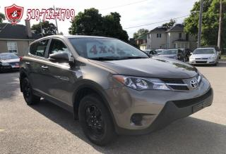 Used 2013 Toyota RAV4 4WD/LE/NO ACCIDENT/CERTIFIED/WARRANTY INCLUDED for sale in Cambridge, ON