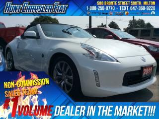 Used 2013 Nissan 370Z TOURING/BLACK TOP/HEATED SEATS/NO ACCIDENTS!!! for sale in Milton, ON