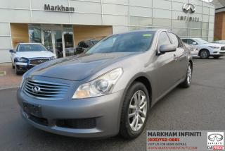 Used 2008 Infiniti G35X Base ASIS, Navi, Leather, Sunroof, Backup Camera for sale in Unionville, ON