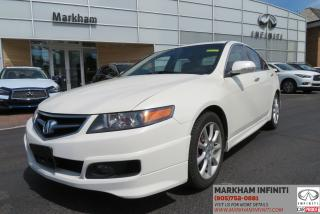 Used 2006 Acura TSX Base ASIS Super Saver for sale in Unionville, ON