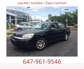 Used 2005 Chevrolet Malibu for sale in Mississauga, ON