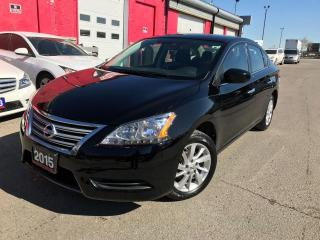 Used 2015 Nissan Sentra SV Back up cam | Bluetooth for sale in Brampton, ON