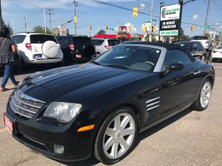 Used 2005 Chrysler Crossfire Limited l Convertible l No Accidents l Automatic for sale in Waterloo, ON