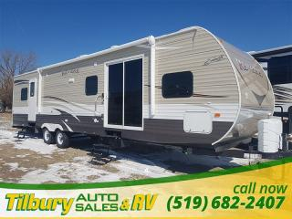 New 2017 Forest River SHASTA REVERE 38FQ Park Model. Patio Doors. Bunk House. for sale in Tilbury, ON