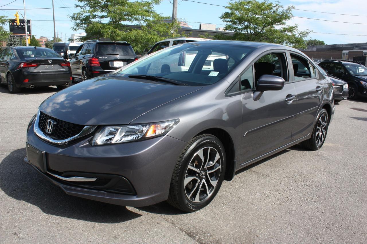 Photo of Grey 2015 Honda Civic