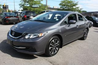 Used 2015 Honda Civic EX | SIDE CAMERA | BACKUP | SUNROOF | PUSH START for sale in North York, ON