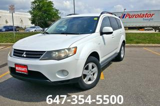Used 2009 Mitsubishi Outlander ES for sale in Mississauga, ON