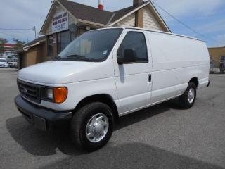 Used 2006 Ford E250 Extended Cargo 4.6L V8 A/C Divider ONLY 97,000KMs for sale in Etobicoke, ON