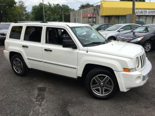 Used 2009 Jeep Patriot Limited/ LEATHER/ ALLOYS/ POWER GROUP/ LIKE NEW! for sale in Scarborough, ON