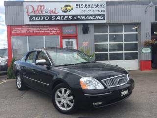 Used 2005 Ford Five Hundred LIMITED ALL WHEEL DRIVE SUPER LOW KILOMETRES!! for sale in London, ON