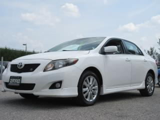 Used 2010 Toyota Corolla S MODEL / ONE OWNER for sale in Newmarket, ON