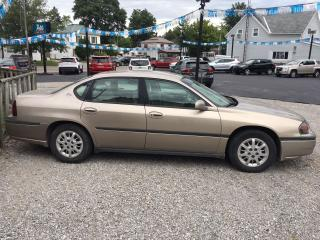 Used 2001 Chevrolet Impala LS for sale in Dunnville, ON