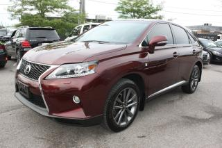Used 2013 Lexus RX 350 F-Sport | LOWKM | ACCIDENT FREE | for sale in North York, ON