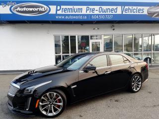 Used 2016 Cadillac CTS-V *Panoramic Sunroof, Magnetic Ride Control* for sale in Langley, BC