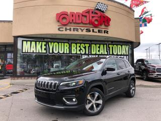 Used 2019 Jeep Cherokee Limited REAR CAM 8.4 RADIO HTED WHEEL PUSH START for sale in Toronto, ON