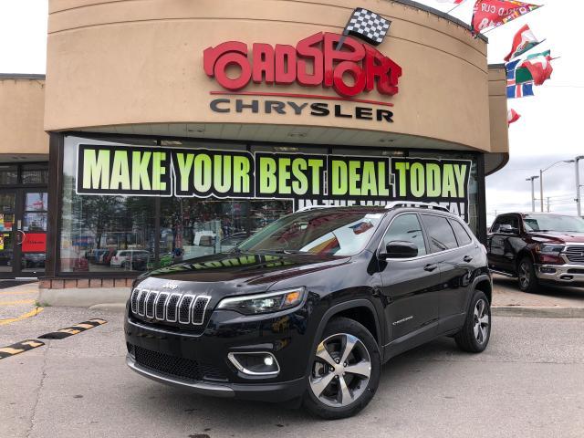 2019 Jeep Cherokee Limited REAR CAM 8.4 RADIO HTED WHEEL PUSH START