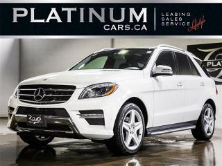 Used 2014 Mercedes-Benz ML 350 BlueTEC,NAVI, CAMERA, DRIVER ASSIST PACKAGE for sale in Toronto, ON