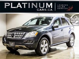 Used 2010 Mercedes-Benz ML 350 4MATIC, NAVI, CAM, SUNROOF for sale in Toronto, ON