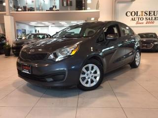 Used 2014 Kia Rio LX+ NO ACCIDENTS-FACTORY WARRANTY** for sale in York, ON