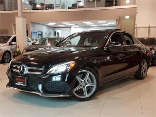 Used 2015 Mercedes-Benz C-Class C300 4MATIC-AMG-SPORT-NAVI-PANO ROOF-ONLY 85KM for sale in York, ON