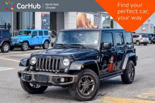 Used 2017 Jeep Wrangler Unlimited 75th Anniversary 4x4|ConnectivityPkg|Leather|Nav|R-Start|17