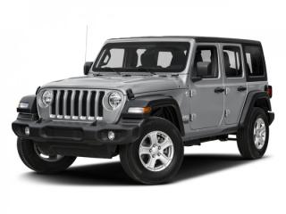 New 2018 Jeep Wrangler Unlimited Sahara for sale in Bolton, ON