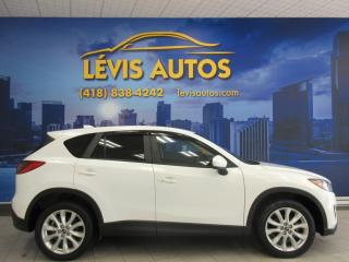 Used 2013 Mazda CX-5 Gt Awd Cuir for sale in Levis, QC
