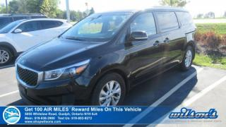 Used 2017 Kia Sedona LX | 8 PASS | POWER SEAT | HEATED SEATS | REAR CAMERA | BLUETOOTH | REAR A/C | ANDROID AUTO | ALLOY for sale in Guelph, ON