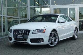 Used 2011 Audi S5 4.2 Premium Tip qtro Cpe *Navi*Rare* for sale in Vancouver, BC