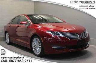 Used 2016 Lincoln MKZ AWD LOW KM - LEATHER - SUNROOF for sale in Regina, SK