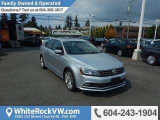 Used 2015 Volkswagen Jetta 2.0 TDI Highline BC Driven, Power Moonroof, Radio Data System & Heated Front Seats for sale in Surrey, BC