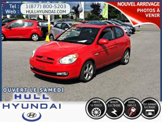 Used 2008 Hyundai Accent Gl Sport, T.ouvrant for sale in Gatineau, QC