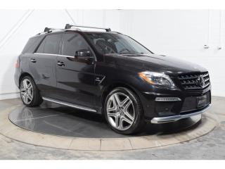 Used 2015 Mercedes-Benz ML-Class Ml63 Awd Toit for sale in St-Hubert, QC