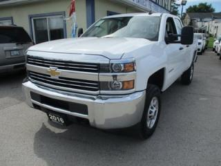 Used 2016 Chevrolet Silverado 2500 WORK READY LS EDITION 6 PASSENGER 6.0L - V8.. 4X4.. QUAD-CAB.. SHORTY.. AUX/USB INPUT.. BLUETOOTH SYSTEM.. for sale in Bradford, ON