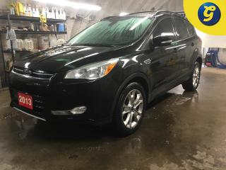 Used 2013 Ford Escape SEL*NAVIGATION*POWER PANORAMIC SUNROOF*LEATHER*FORD SYNC PHONE CONNECT*POWER SEAT/LIFTGATE*HEATED MIRRORS/SEATS*HANDSFREE VOICE COMMAND* for sale in Cambridge, ON