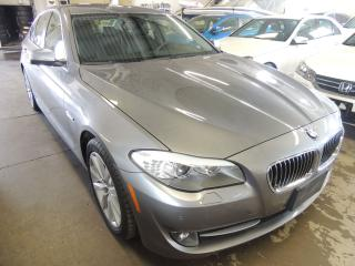 Used 2013 BMW 528i/A xDrive, NAVI, BACK UP CAMERA, SUNROOF for sale in Mississauga, ON