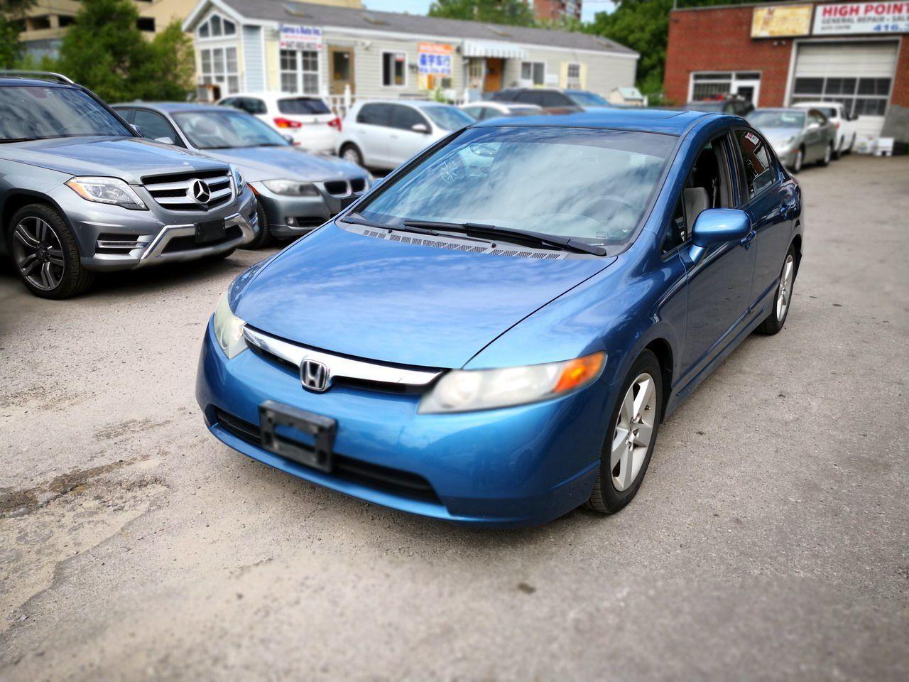 Photo of Blue 2007 Honda Civic