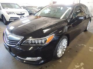 Used 2014 Acura RLX ELITE PACK, NAVI, BACK UP CAMERA for sale in Mississauga, ON