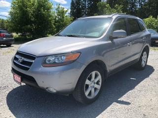 Used 2007 Hyundai Santa Fe GLS LEATHER SUNROOF AWD for sale in Gormley, ON
