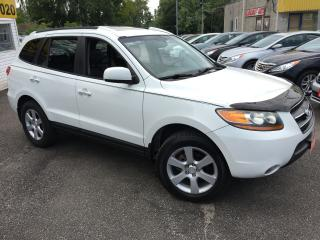 Used 2009 Hyundai Santa Fe LIMITED/ AWD/ LEATHER/ SUNROOF/ ALLOYS for sale in Scarborough, ON