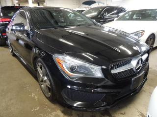 Used 2014 Mercedes-Benz CLA-Class AMG PACK, 4 MATIC, NAVI, BACK UP CAMERA, PANO ROOF for sale in Mississauga, ON