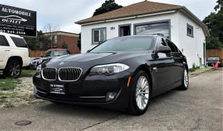 Used 2011 BMW 535xi 535i xDrive AWD NAVI BACK-UP CAM NO ACIDENT for sale in Mississauga, ON