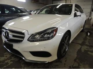 Used 2014 Mercedes-Benz E-Class E300 4MATIC, NAVI, BACK UP CAMERA, LEATHER for sale in Mississauga, ON