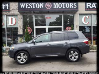 Used 2010 Toyota Highlander SPORT*LTD*AWD*LEATHER*SUNROOF for sale in Toronto, ON