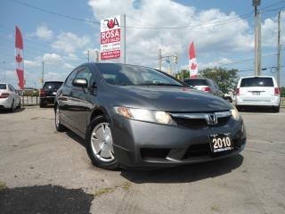 Used 2010 Honda Civic DX-G for sale in Oakville, ON