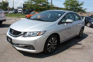 Used 2015 Honda Civic EX LOWKM|SIDE CAMERA|SUNROOF|ALLOY|PUSH START for sale in North York, ON