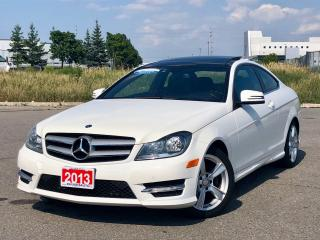 Used 2013 Mercedes-Benz C-Class Coupe|ACCIDENT FREE|FINANCING AVAILABLE for sale in Mississauga, ON
