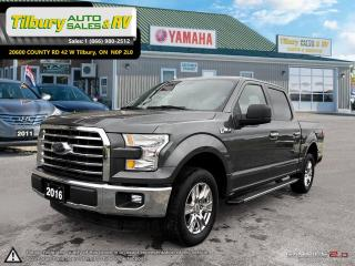 Used 2016 Ford F-150 XLT. CHROME RIMS, RUNNING BOARDS, GRILL for sale in Tilbury, ON