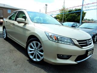 Used 2013 Honda Accord V6 TOURING   NAVI.CAMERA.BSM   LEATHER.ROOF for sale in Kitchener, ON